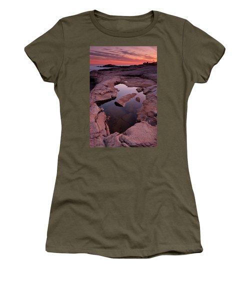 Tide Pool Geometry Women's T-Shirt