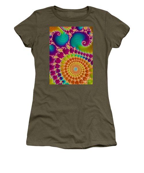 Tie Dye Spiral  Women's T-Shirt