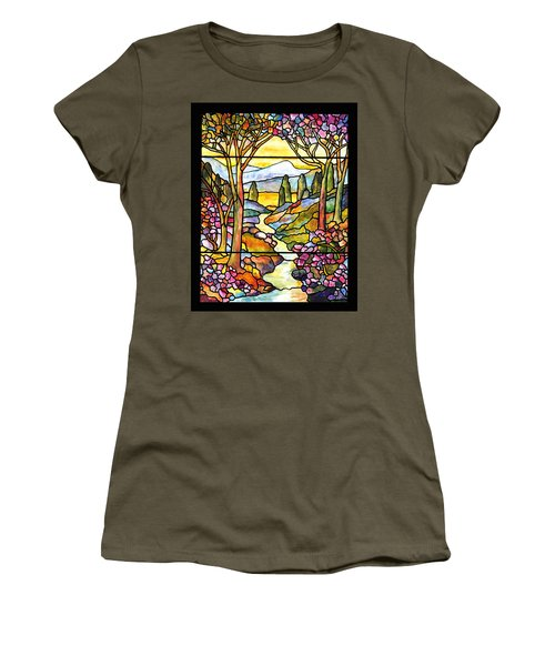 Tiffany Landscape Window Women's T-Shirt