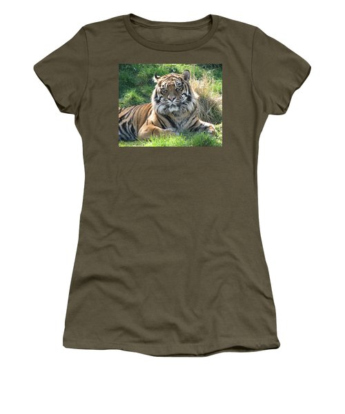 Tiger 2 Women's T-Shirt (Athletic Fit)