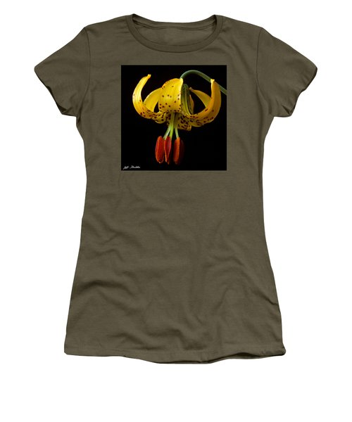 Tiger Lily Women's T-Shirt (Junior Cut) by Jeff Goulden