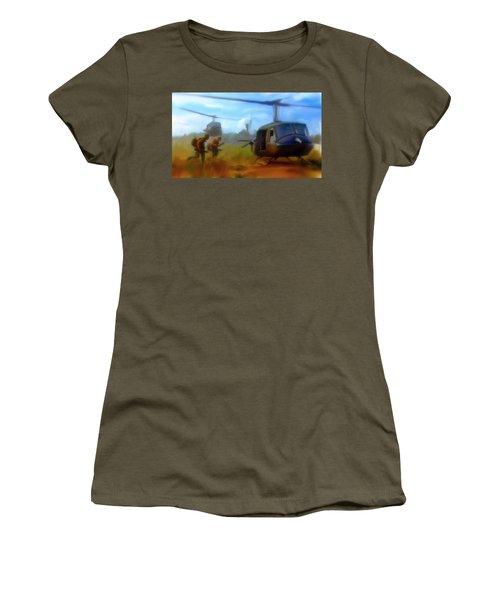 Time Sacrificed II Vietnam Veterans  Women's T-Shirt (Junior Cut)