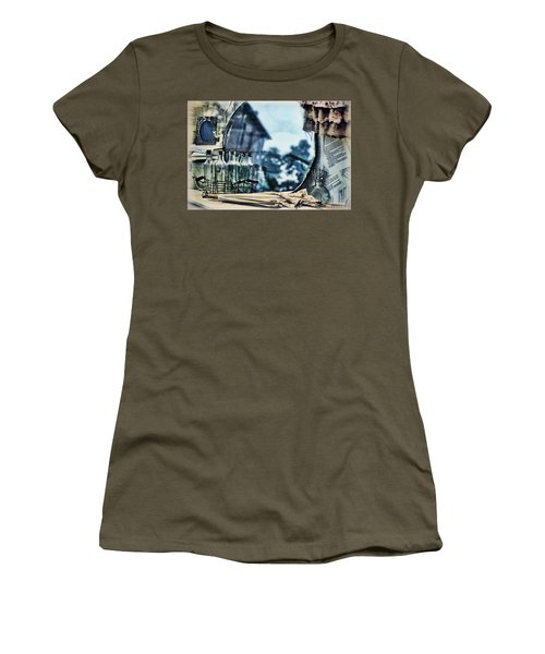 Women's T-Shirt featuring the photograph Time Warp by Kristi Swift