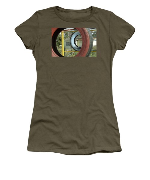Tires In An Orphanage Women's T-Shirt