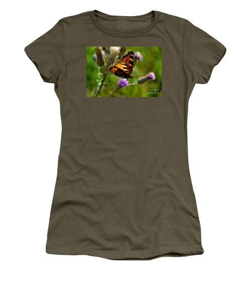 Tortoise Shell Butterfly Women's T-Shirt