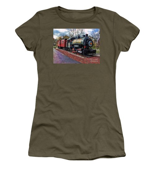 Train At Olmsted Falls - 1 Women's T-Shirt
