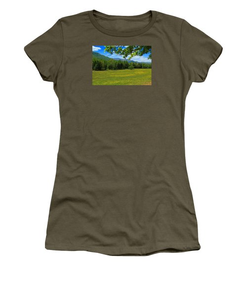 Women's T-Shirt (Junior Cut) featuring the photograph Tranquility by Geraldine DeBoer