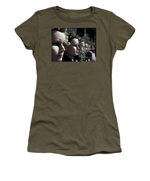 Women's T-Shirt (Junior Cut) featuring the photograph Transplants by Micki Findlay
