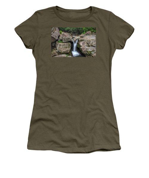 Trash Can Falls Women's T-Shirt