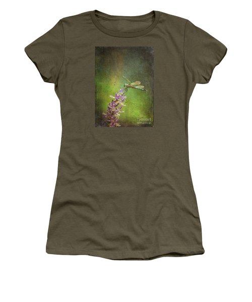 Treading Lightly Women's T-Shirt (Junior Cut) by Patricia Griffin Brett