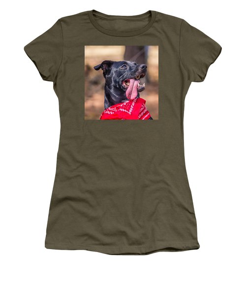 Women's T-Shirt (Junior Cut) featuring the photograph Treat Please by Rob Sellers