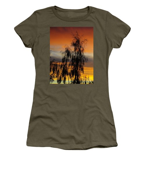 Trees In The Sunset Women's T-Shirt