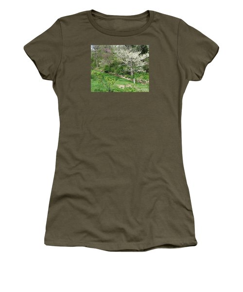 Trees Of Early Spring Women's T-Shirt (Athletic Fit)