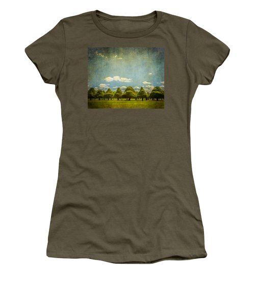 Triangular Trees 003 Women's T-Shirt
