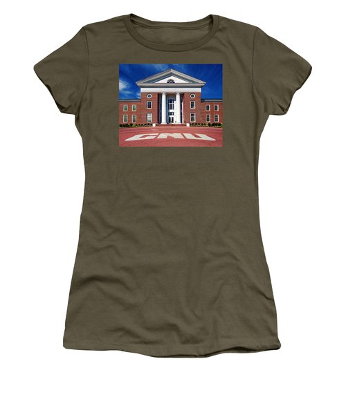 Trible Library Christopher Newport University Women's T-Shirt