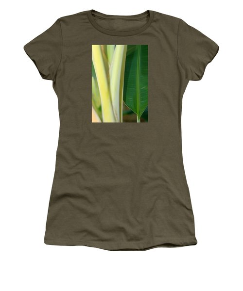 Tropical Banana Tree Women's T-Shirt (Athletic Fit)