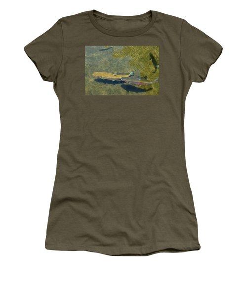 Trout Art Prints Wild Game Sports Fishing Women's T-Shirt