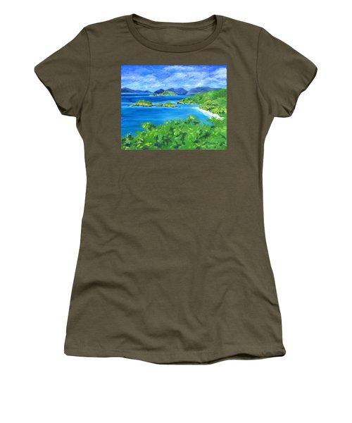 Trunk Bay Women's T-Shirt