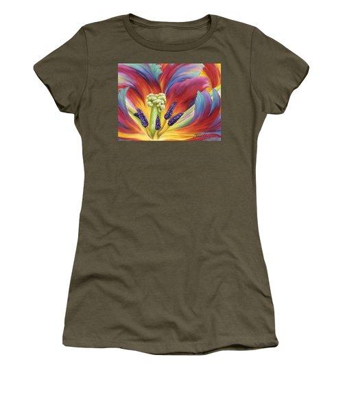 Tulip Color Study Women's T-Shirt