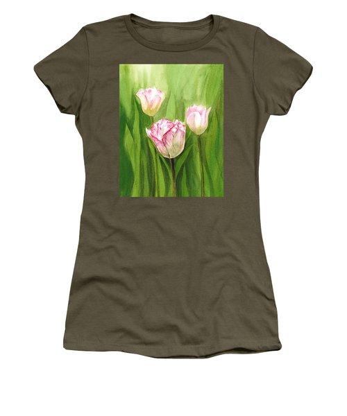 Tulips In The Fog Women's T-Shirt