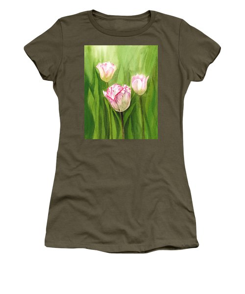 Tulips In The Fog Women's T-Shirt