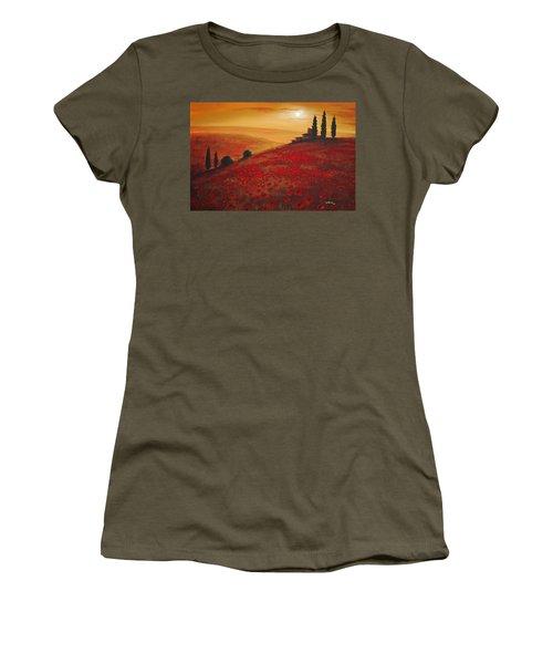 Tuscan Sunset Women's T-Shirt