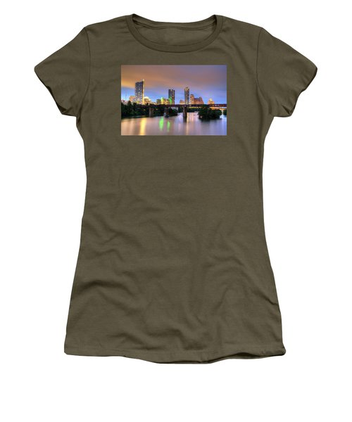 Twilight On The Lake Women's T-Shirt (Athletic Fit)