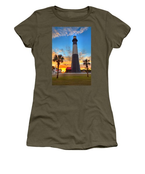 Tybee Island Sunrise Women's T-Shirt (Athletic Fit)