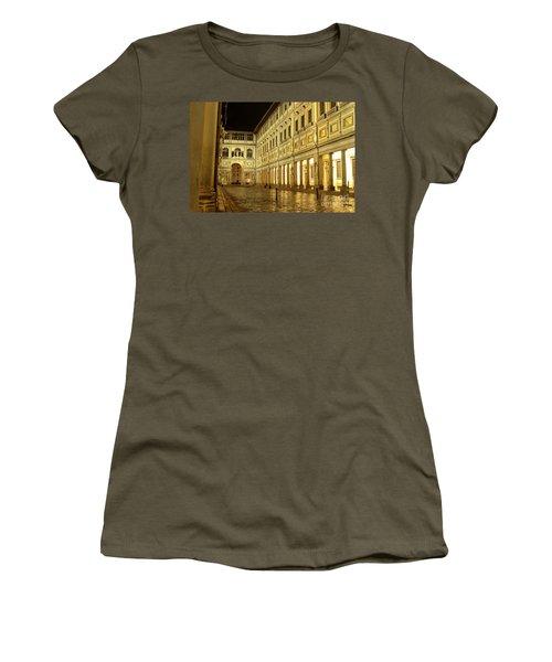 Uffizi Gallery Florence Italy Women's T-Shirt (Junior Cut) by Ryan Fox