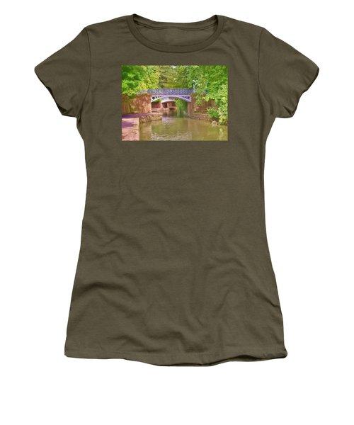 Under The Bridges Women's T-Shirt (Athletic Fit)