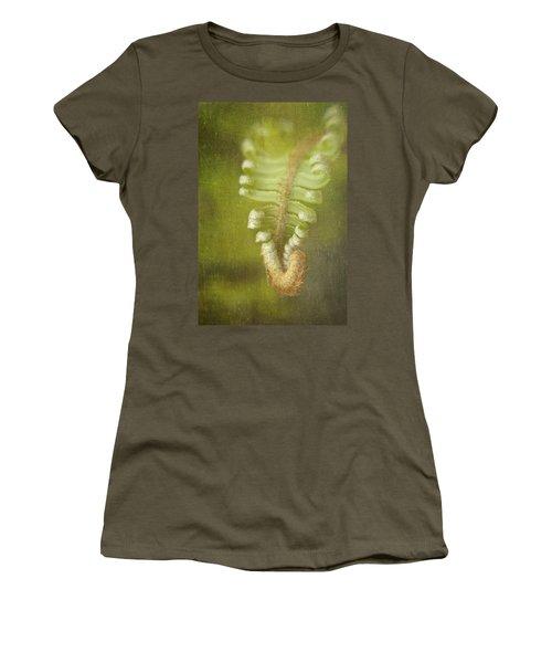 Unfurling Fern Women's T-Shirt