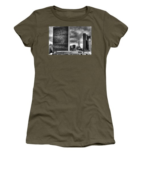 United Nations And Chrysler Building Women's T-Shirt
