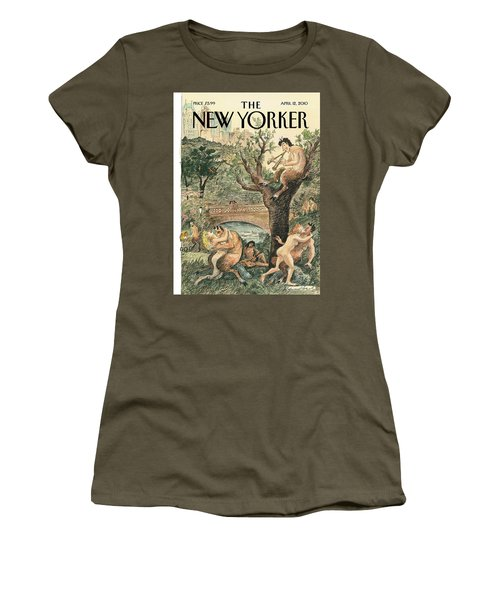 New Yorker April 12th, 2010 Women's T-Shirt