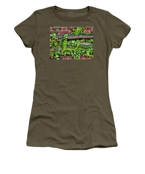Up Over And Under Women's T-Shirt (Athletic Fit)