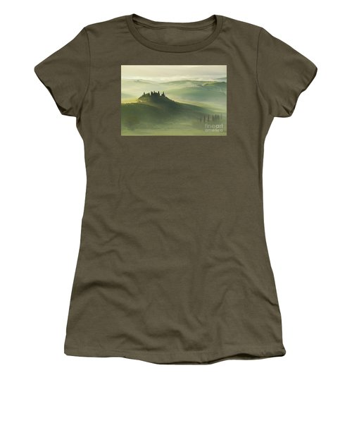 Val D'orcia Women's T-Shirt (Athletic Fit)