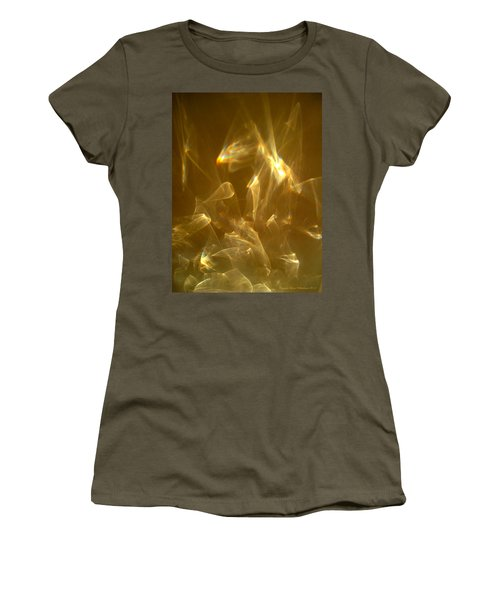 Veils Of Light Women's T-Shirt (Junior Cut) by Leena Pekkalainen