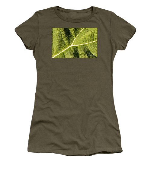 Veins Of A Leaf Women's T-Shirt