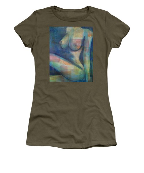 Women's T-Shirt featuring the painting Venus by Blake Emory