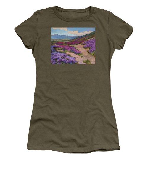 Verbena Harmony In Purple Women's T-Shirt