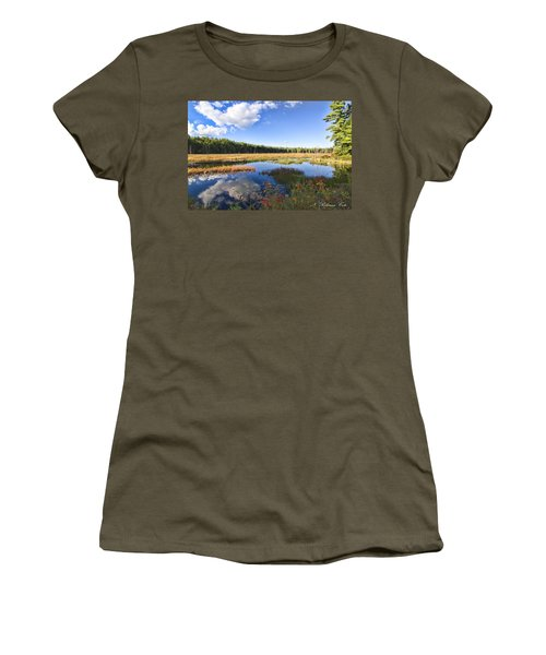 Vibrant Fall Scene Women's T-Shirt