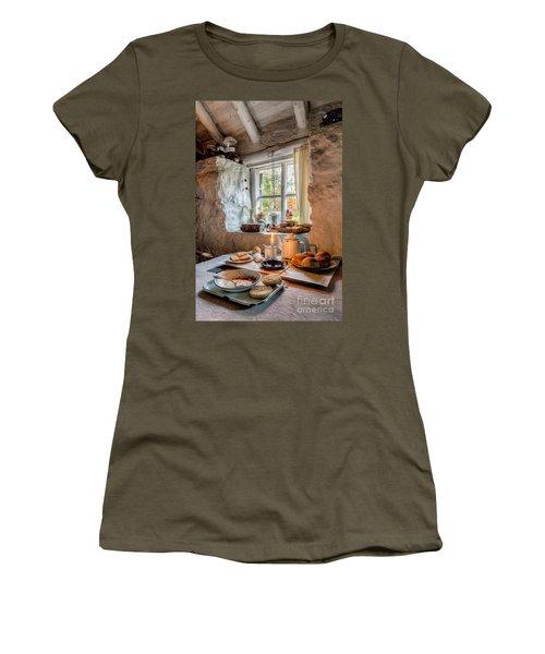Victorian Cottage Breakfast V.2 Women's T-Shirt