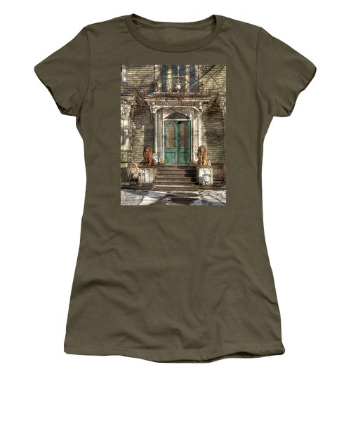 Victorian Entry Women's T-Shirt (Athletic Fit)
