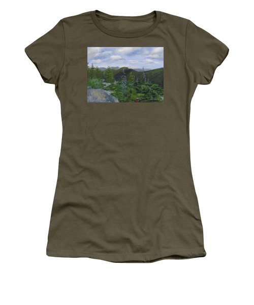 View From Noon Peak Women's T-Shirt