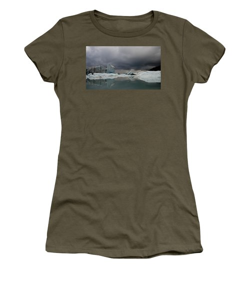 View Of Ice Bergs In Resurrection Bay Women's T-Shirt