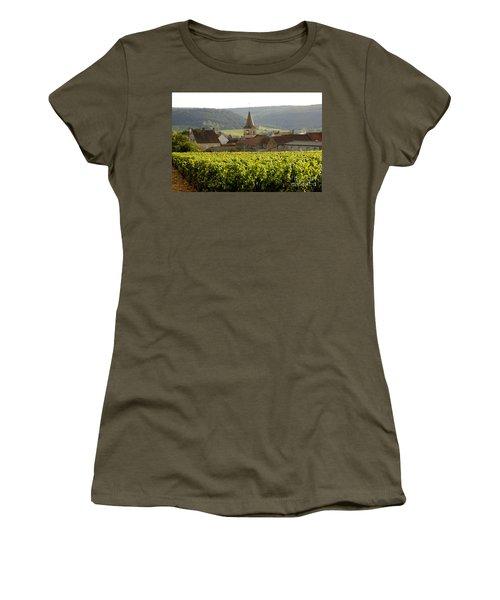 Village Of Monthelie. Burgundy. France Women's T-Shirt