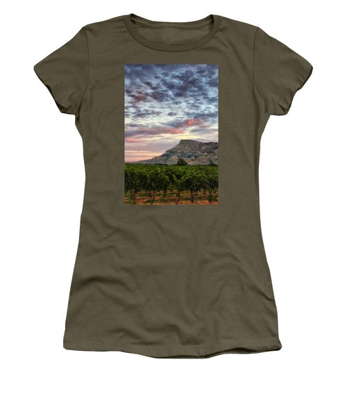 Vineyards And Mt Garfield Women's T-Shirt