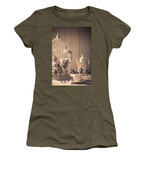 Vintage Birdcage Women's T-Shirt