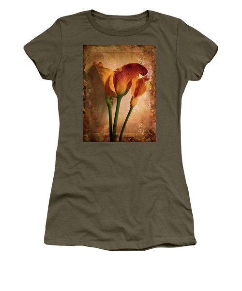 Vintage Calla Lily Women's T-Shirt