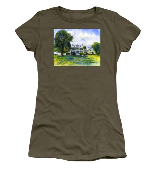 Wades Point Inn Women's T-Shirt (Athletic Fit)