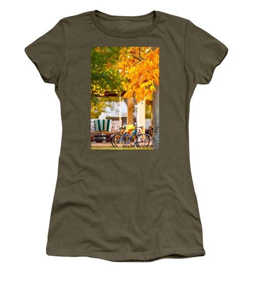 Waiting For A Ride Women's T-Shirt